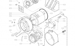 Lg Washer Parts | Model Wm2487Hwm | Sears Partsdirect with Lg Front Load Washer Parts Diagram