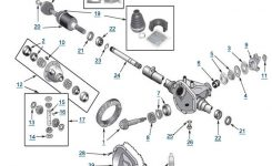 Liberty Model 30 Front Axle – 4 Wheel Parts inside 2005 Jeep Liberty Parts Diagram