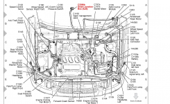 Location Of The Turn Signal Flasher For A 2006 Ford Escape? with regard to 2005 Ford Escape Engine Diagram