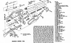 Marlin 336 Sc Schematic – Image Gallery Marlin 336 Parts intended for Marlin 30 30 Parts Diagram