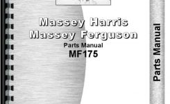 Massey Ferguson 175 Tractor Parts Manual with Massey Ferguson 175 Parts Diagram