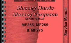 Massey Ferguson 255 Tractor Service Manual regarding Massey Ferguson 255 Parts Diagrams