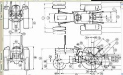 Massey Ferguson Mf 135 148 Tractor Service & Ad Manual For Sale intended for Massey Ferguson 135 Parts Diagram