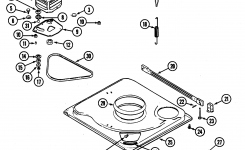 Maytag Washer Motor Plate 35-2021 For Admiral Washer Motor for Maytag Front Load Washer Parts Diagram