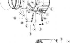 Maytag Washer Parts | Model Mah6700Aww | Sears Partsdirect in Maytag Front Load Washer Parts Diagram