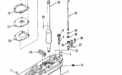 Mercruiser : Alpha One Gen Ii Sterndrive And Transom Assembly with regard to Mercruiser Alpha One Outdrive Parts Diagram