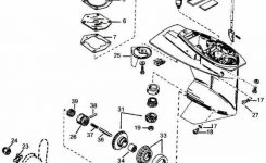 Mercury Outboard Parts Drawing 2 & 3 Cylinder P/n 1 To 18 for Mercury Outboard Motor Parts Diagram