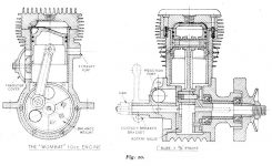 Model Petrol Engines (By Etw) pertaining to Two Stroke Petrol Engine Diagram