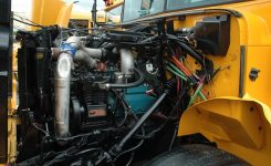 More School Bus Pics From 2009 Diesel Nationals – School Bus Fleet with regard to School Bus Engine Compartment Diagram