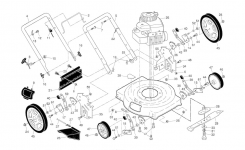 Murray Lawn Mower Parts | Model 96114002601 | Sears Partsdirect throughout Murray Lawn Tractor Parts Diagram