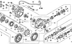 Need Help With Rubicon Front Diff – Honda Foreman Forums : Rubicon within Honda Foreman 500 Parts Diagram