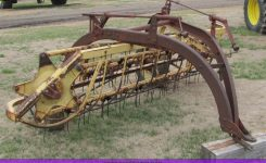 New Holland 56 Side Delivery Hay Rake | Item 3324 | Sold! Ap within New Holland 56 Hay Rake Parts Diagram