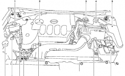 Nissan Altima Qr25De Engine Compartment Diagram throughout 1997 Nissan Altima Engine Diagram