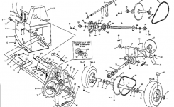 Noma Dual Stage Snow Blower Parts | Model Dp826E585317 | Sears inside Snow King Snowblower Parts Diagram