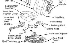 Note If Instrument Panel Or Instrument Panel Reinforcement Is with 2003 Toyota Sequoia Parts Diagram