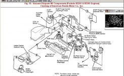 Obd2 96-97 Honda Accord To Jdm Obd1 H22A Dohc Vtec Engine Motor in 1994 Honda Accord Engine Diagram