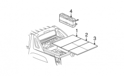 Oem 2002 Chevrolet Avalanche 1500 Exterior Trim – Rear Body Parts with regard to 2002 Chevy Avalanche Parts Diagram