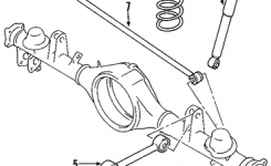 Oem 2003 Chevrolet Trailblazer Rear Axle Parts | Gmpartsonline inside 2003 Chevy Trailblazer Parts Diagram