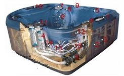 Order Replacement Parts For Jacuzzi J-300 Series ;; 2009 Spa with regard to Jacuzzi Hot Tub Parts Diagram