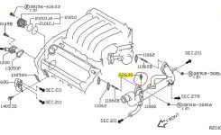 P0117 2007 Nissan Maxima Engine Coolant Temperature Circuit Low within 2007 Nissan Maxima Engine Diagram