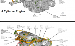 P0325 2006 Ford Fusion Knock Sensor 1 Circuit Bank 1 throughout 2006 Ford Fusion Engine Diagram