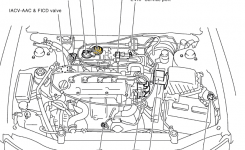 P0400 2001 Nissan Altima Sedan Exhaust Gas Recirculation Function regarding 2001 Nissan Altima Engine Diagram