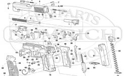 P226 Schematic | Numrich in Sig Sauer P226 Parts Diagram