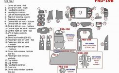 Parts For Ford F150 | Ford in 2001 Ford F150 Parts Diagram