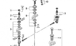 Parts For Grohe Talia Series Bathroom Fixtures within Bathroom Sink Faucet Parts Diagram