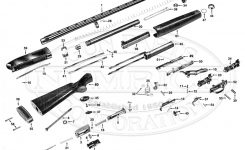 Parts List Schematic | Numrich with regard to Winchester Model 12 Parts Diagram