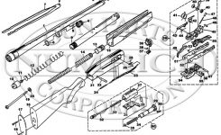 Parts List Schematic | Numrich with Winchester Model 94 Parts Diagram