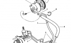 Power Steering Hoses For 2001 Chrysler Town & Country intended for 2001 Chrysler Town And Country Parts Diagram