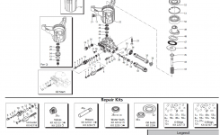 Powerboss Pressure Washer 020447-0 Replacement Parts, Pump with Honda Pressure Washer Pump Parts Diagram