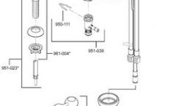 Price Pfister Single Handle Tub And Shower Cartridge 974-042 | Tubs intended for Price Pfister Marielle Parts Diagram