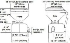 Raritan Crown Head Toilet throughout Raritan Crown Head Parts Diagram