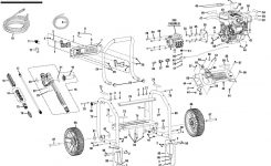 Rd80704, Rd80991 Ridgid Pressure Washer Parts inside Ridgid Pressure Washer Parts Diagram