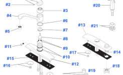 Repair Parts For Delta Kitchen Faucets with regard to Delta Faucet Repair Parts Diagram
