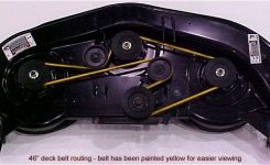 Route A Riding Mower Deck Belt: Diagram & Repair Tips | Mtd Parts with regard to Yard Machine Mower Parts Diagram