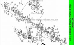 Ryobi Rst 2800C Spare Parts Diagrams Spares And Spare Parts in Stihl 028 Av Parts Diagram