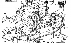 Sabre/john Deere Lawn Tractor Parts | Model 1646Hydrogxsabre inside John Deere Mower Deck Parts Diagram