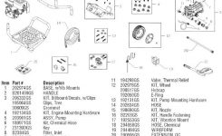 Sears Craftsman Pressure Washer 580752230 Replacement Parts, Pump in Craftsman Pressure Washer Parts Diagram
