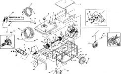 Sears & Craftsman Pressure Washer Model 580742780 Replacement pertaining to Craftsman Pressure Washer Parts Diagram