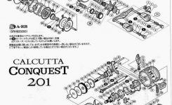Shimano Schematics – Servicing 2014 Shimano Calcutta Conquest 200 intended for Shimano Calcutta 200 Parts Diagram
