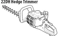 Shindaiwa 22Dh Hedge Trimmer Illustrated Parts Diagrams intended for Stihl Weed Eater Parts Diagram
