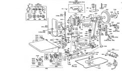Singer 221 Featherweight Parts Diagram inside Kenmore Sewing Machine Parts Diagram