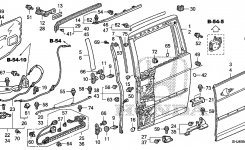 Sliding Door Stop Sensor? Three Beeps throughout 2003 Honda Odyssey Parts Diagram