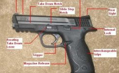 Smith & Wesson M&p 9 inside Smith And Wesson M&p Parts Diagram