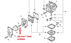 Solved: Echo Pb-250Ln How To Replace Throttle Cable – Fixya intended for Echo Weed Eater Parts Diagram