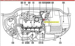 Solved: How To Replace A Coolant Temp Sensor On A 2001 Vw – Fixya throughout 2001 Vw Beetle Engine Diagram