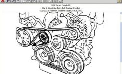 Solved: Need A Diagram For A 99 Toyota Corolla Serpentine – Fixya pertaining to 1999 Toyota Corolla Engine Diagram